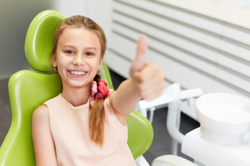 zadowolona pacjentka
